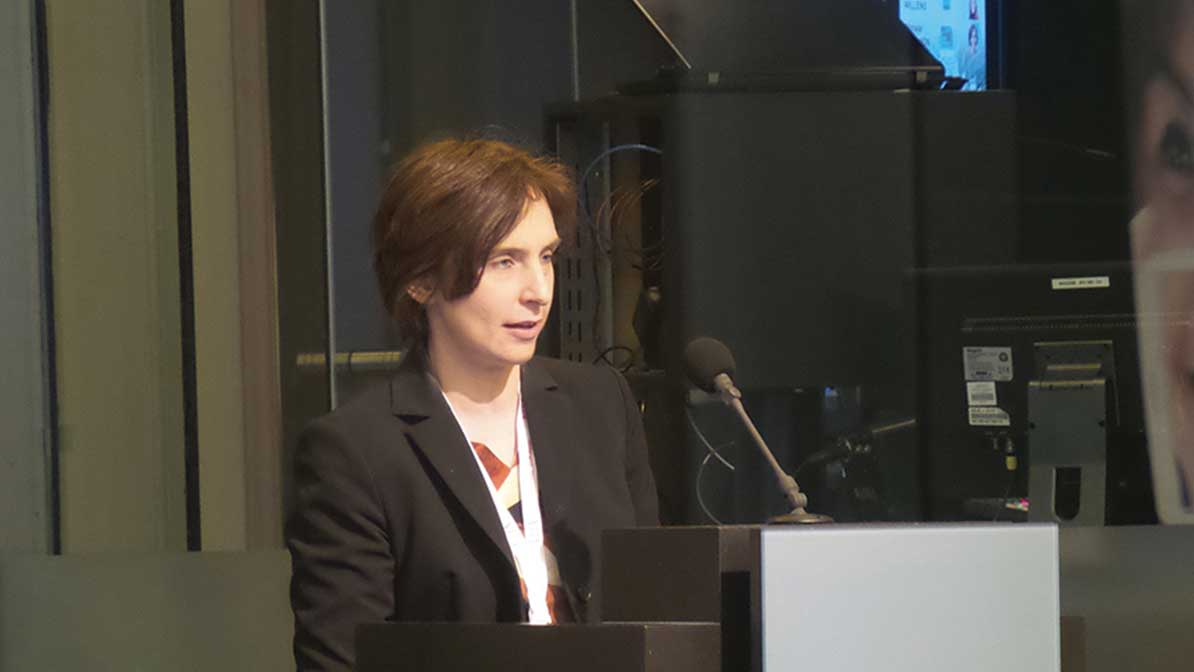 Mrs Christel Davidson, (SBS) spoke on the standardisation of European SMEs.
